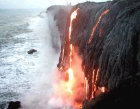 Lava Flow, Hawaii Volcanoes National Park