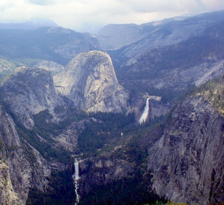 Glacier Point Road, The Grand Staircase