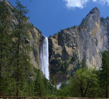 Yosemite National Park, Bridalveil Fall by Robert Abele