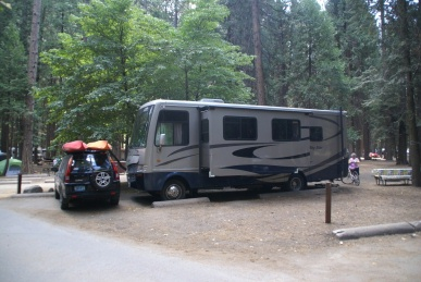 Camping In Yosemite National Park