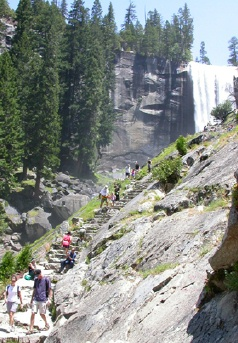 The Mist Trail Staircase