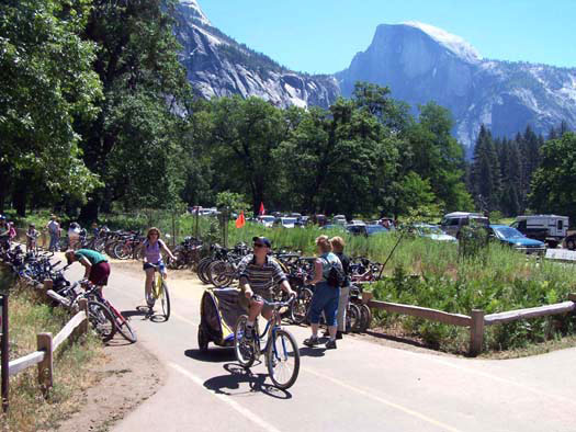 Bike Paths in Yosemite Valley, NPS