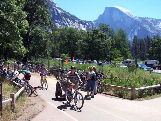 Bike Paths in Yosemite Valley, NPS