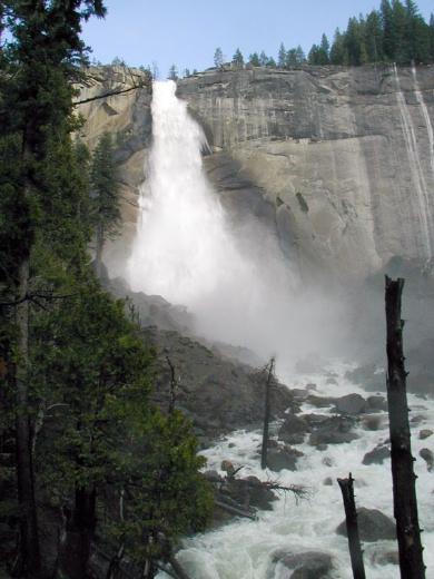 Yosemite national park nevada fall