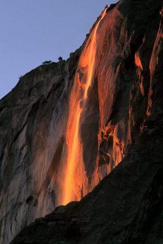Yosemite National Park, Horsetail Fall
