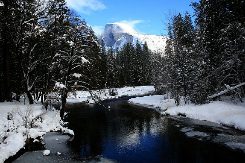 Half Dome From Sentinel Bridge, Mila Zinkova